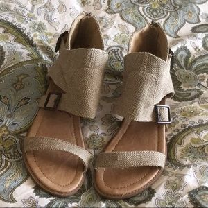 Cute woven sandals by Blowfish